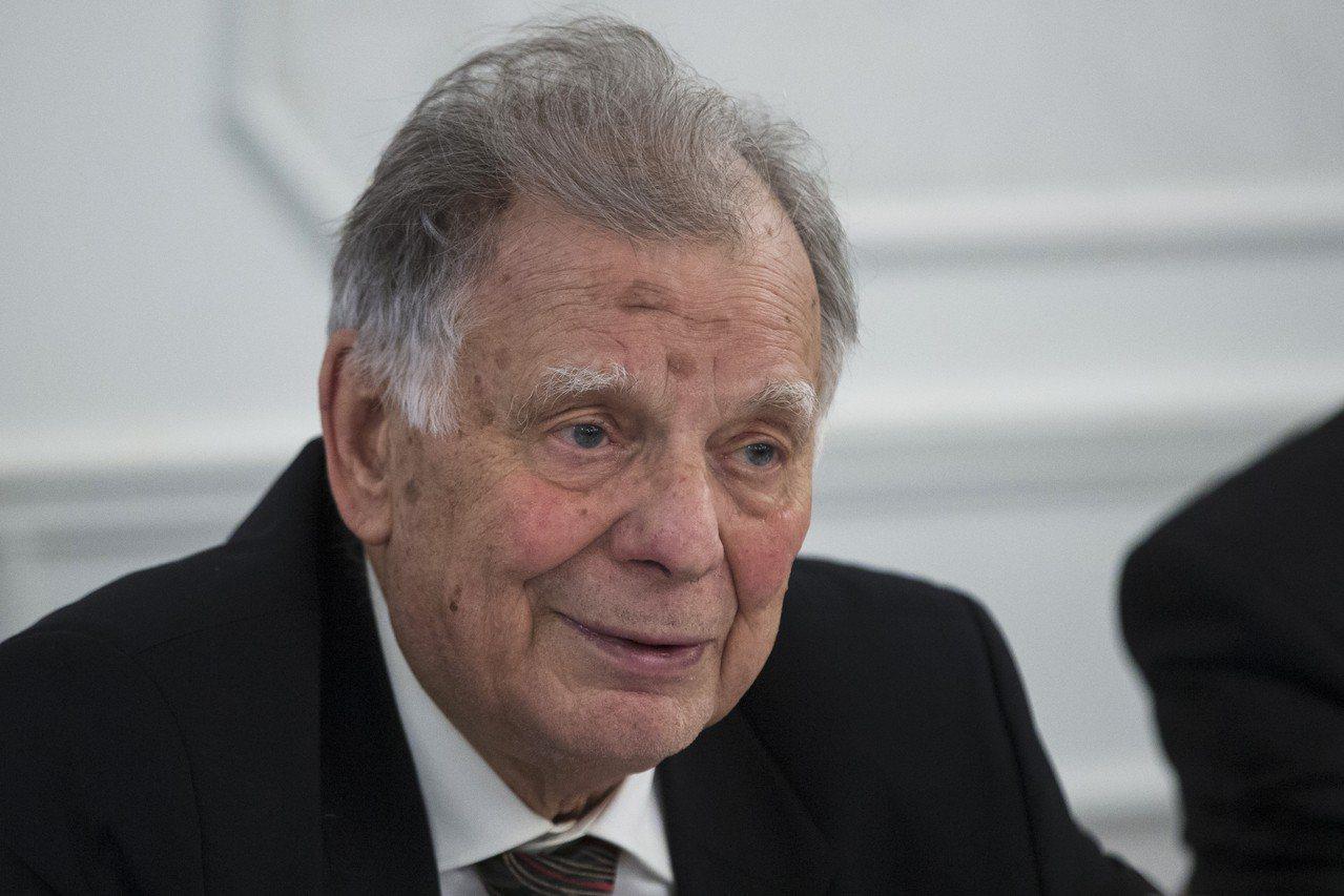曾獲諾貝爾物理獎的艾費洛夫(Zhores Alferov)。 美聯社