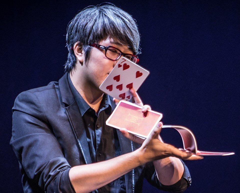 魔術師吳何。 圖/擷自臉書