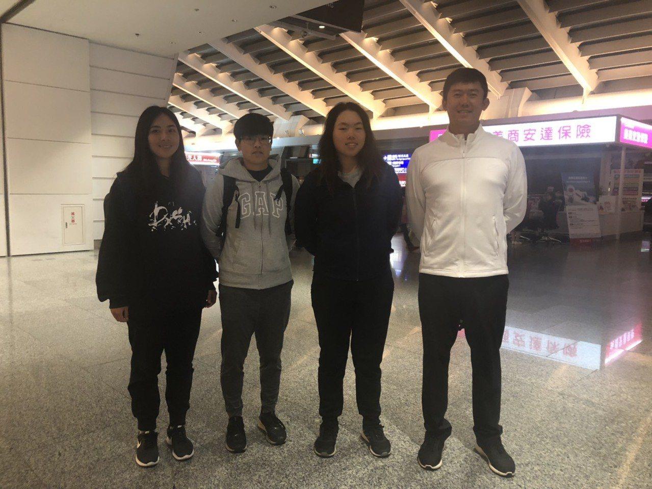 中華女子高球代表隊2日上午6時搭機 前往澳洲阿德雷德參加2019泰后盃亞太女子高...