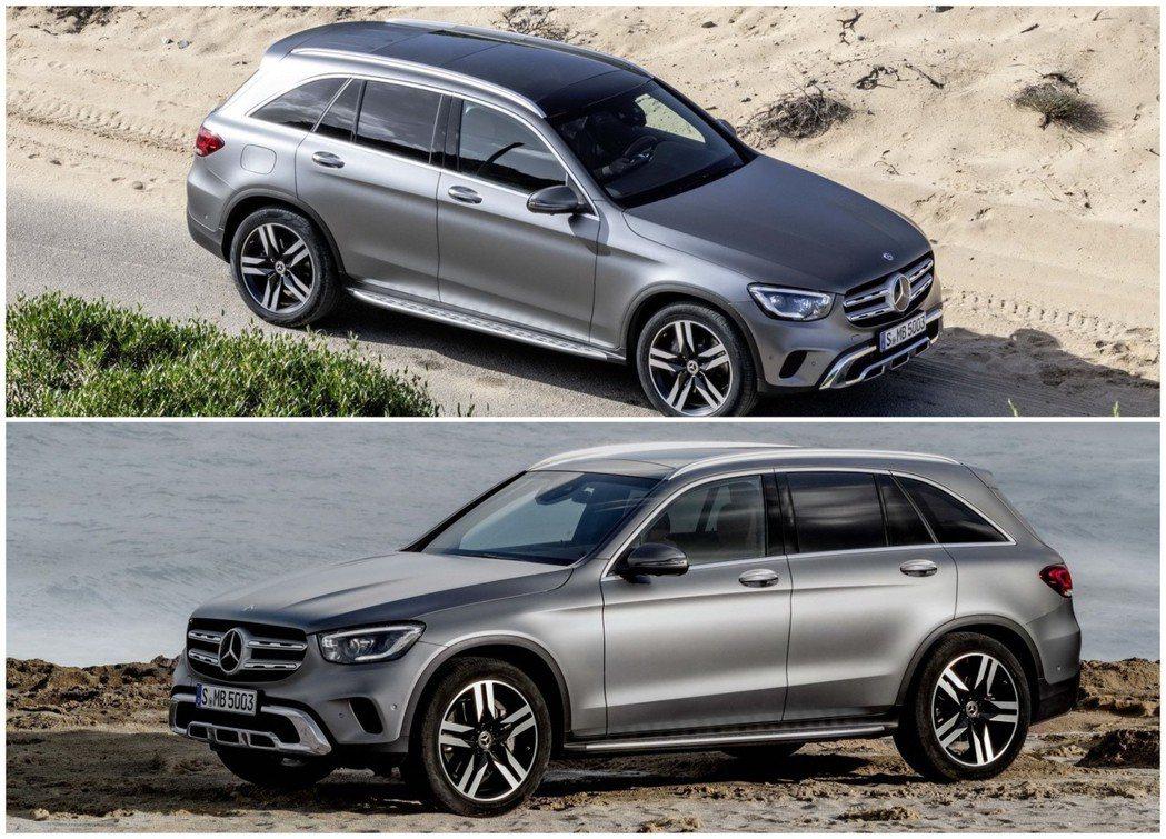 小改款Mercedes-Benz GLC外觀造型上並未有太多的更動。 摘自Mer...