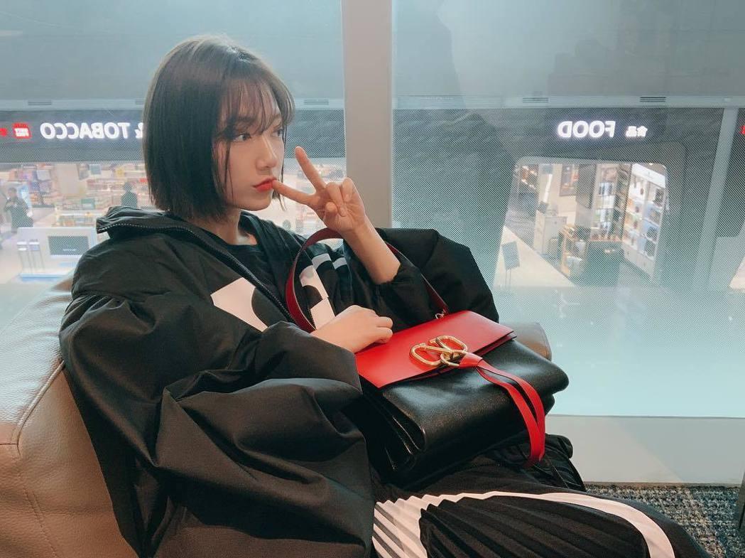 圖為朴信惠在自己IG的發圖。圖/擷自instagram。