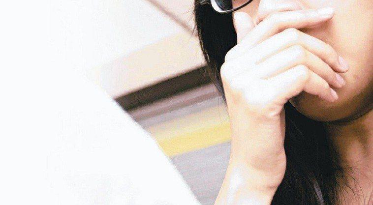 24歲女孩不吸煙無家族史卻患肺癌,圖非當事人。報系資料照