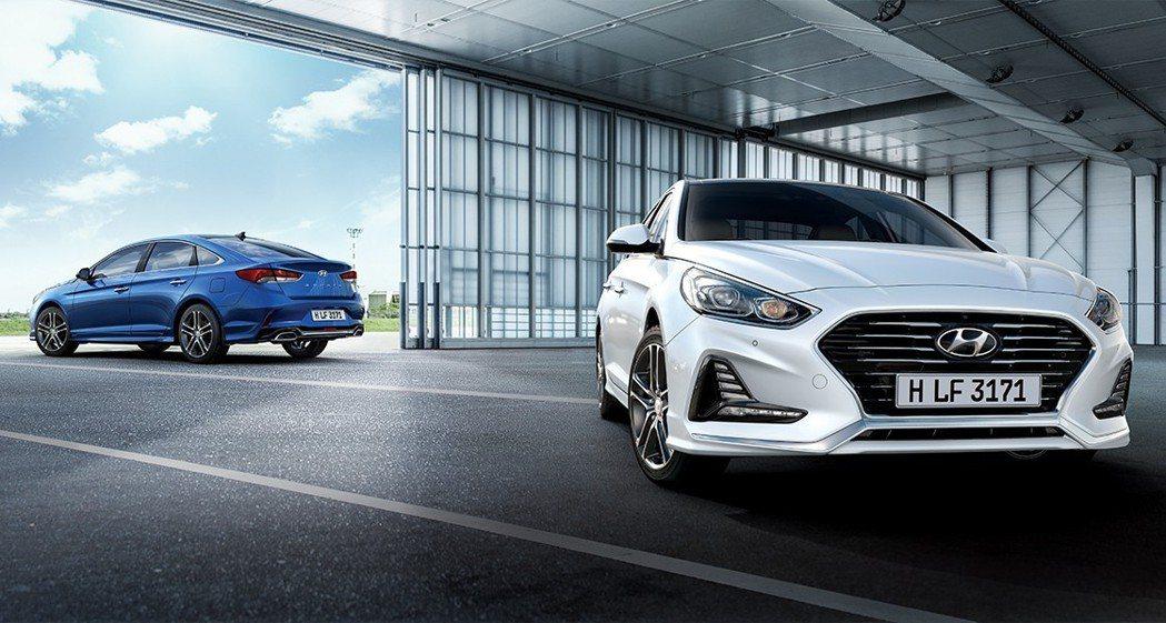 現行第七代Hyundai Sonata。 摘自Hyundai