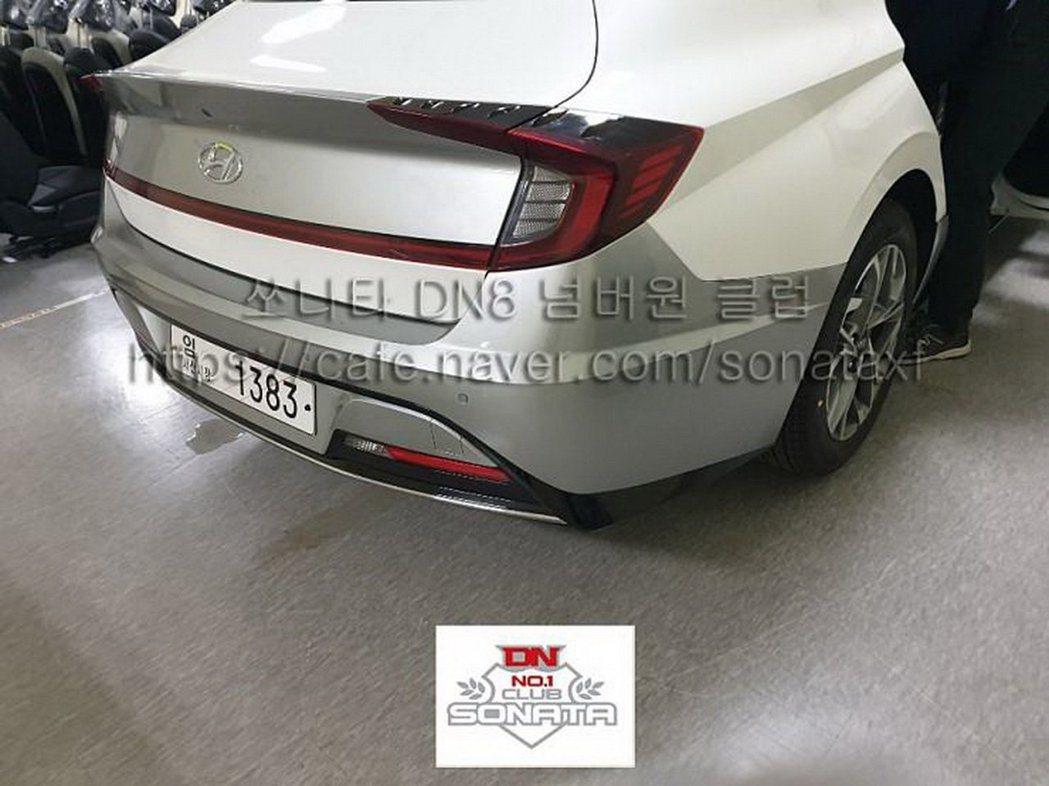 第八代Hyundai Sonata無偽裝照。 摘自Carscoops