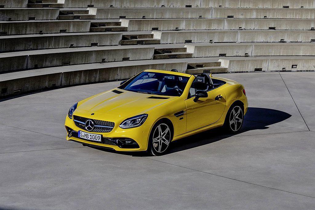 賓士宣布推出SLC Final Edition特仕版,宣告SLC小跑車時代將告一段落。 圖/Mercedes-Benz提供