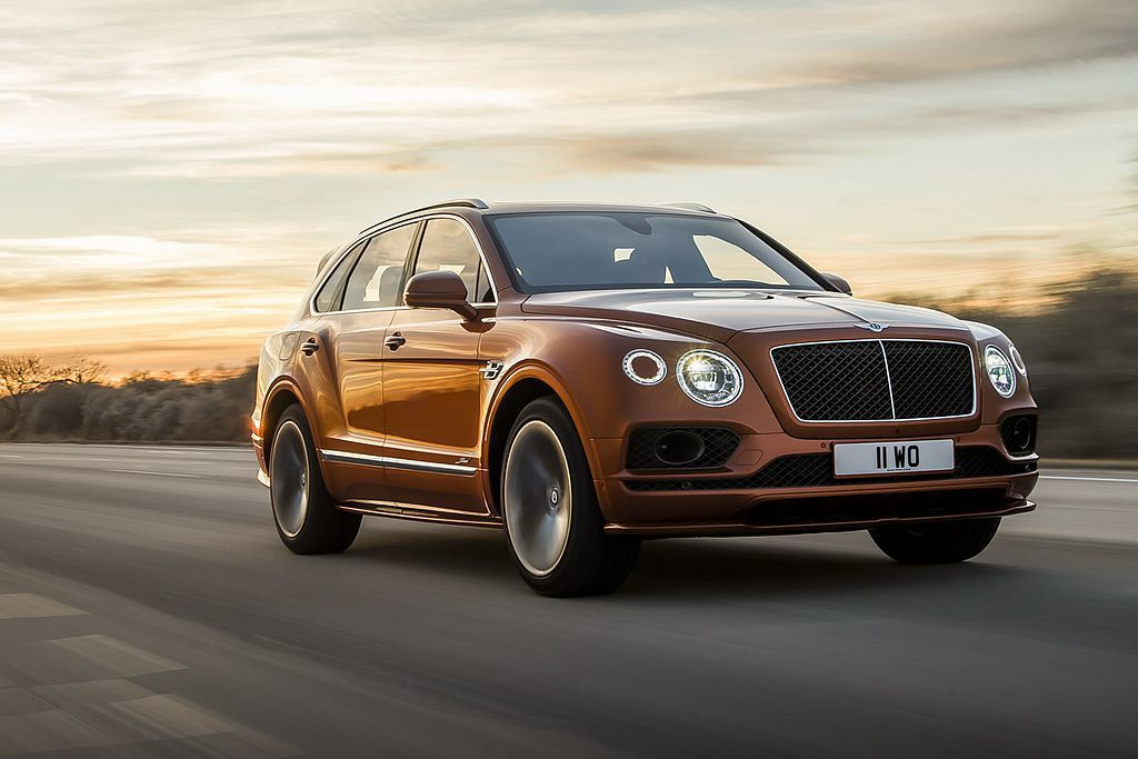 Bentley推出Bentayga Speed性能旗艦版,以306km/h極速表...