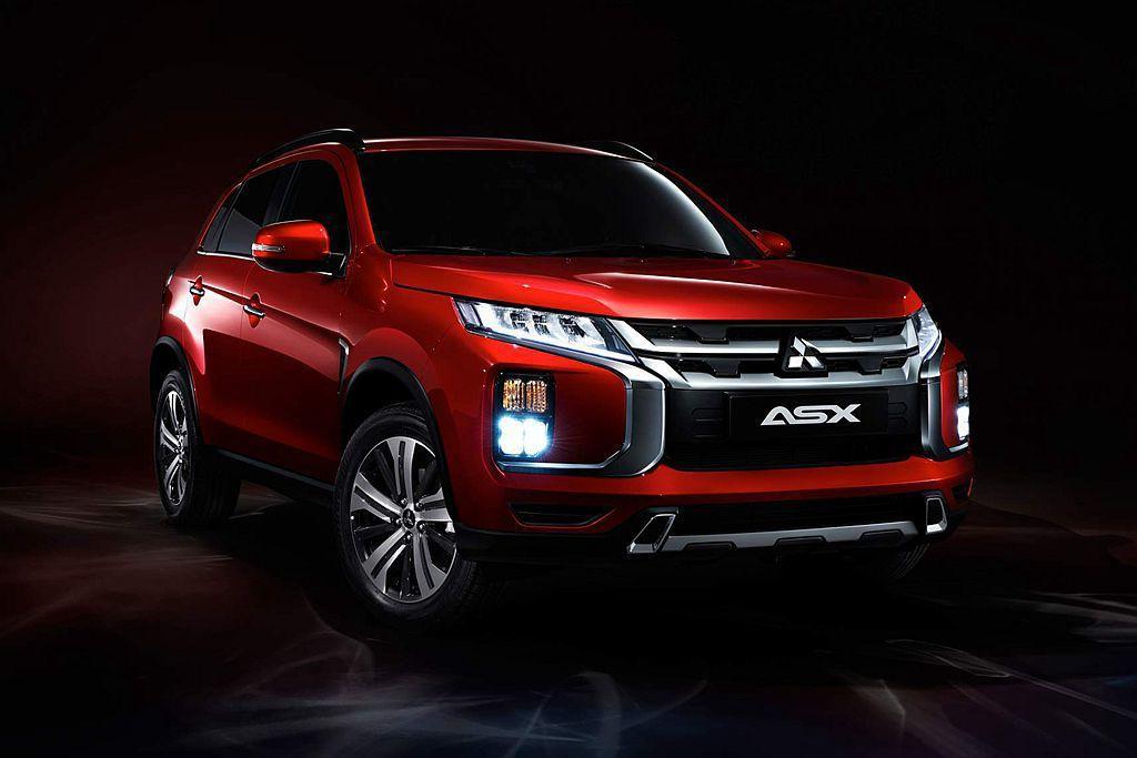 曾在2011年導入台灣市場銷售的ASX,這次再推出小改車型並換上最新Dynamic Shield家族面容。 圖/Mitsubishi提供