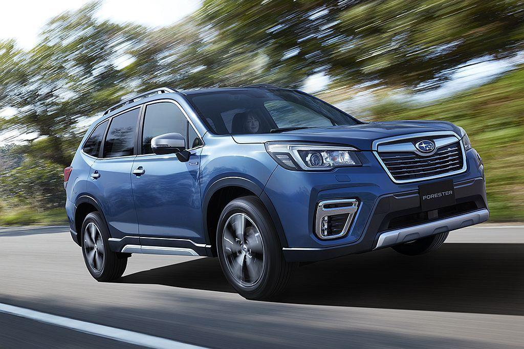 Subaru汽車已經表明會發表兩款歐規e-BOXER複合動力車型,當中Fores...