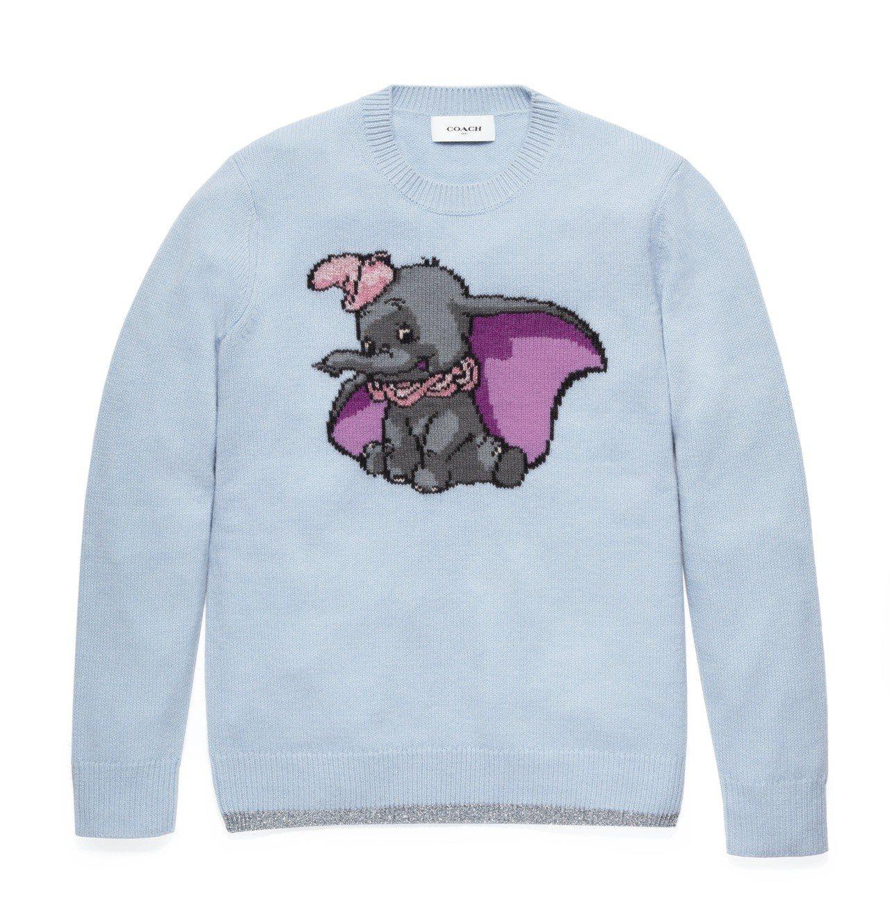 Disney x COACH Dumbo毛衣,售價16,800元。圖/COACH...