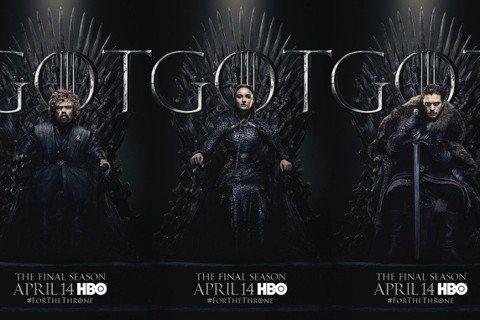 全球億萬觀眾今年最矚目的大事之一、HBO超級夯劇「冰與火之歌:權力遊戲」最終季首播,還剩1個半月不到就要正式開始,HBO特別推出最新宣傳攻勢,劇中人物明爭暗鬥7季,為了爭奪「鐵王座」之主的地位,最終...
