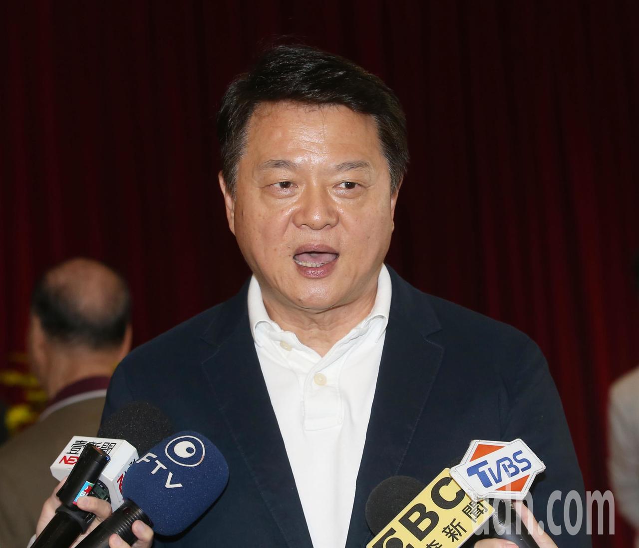 周錫瑋受訪表示,國民黨一定要推出最強人選。記者林澔一/攝影