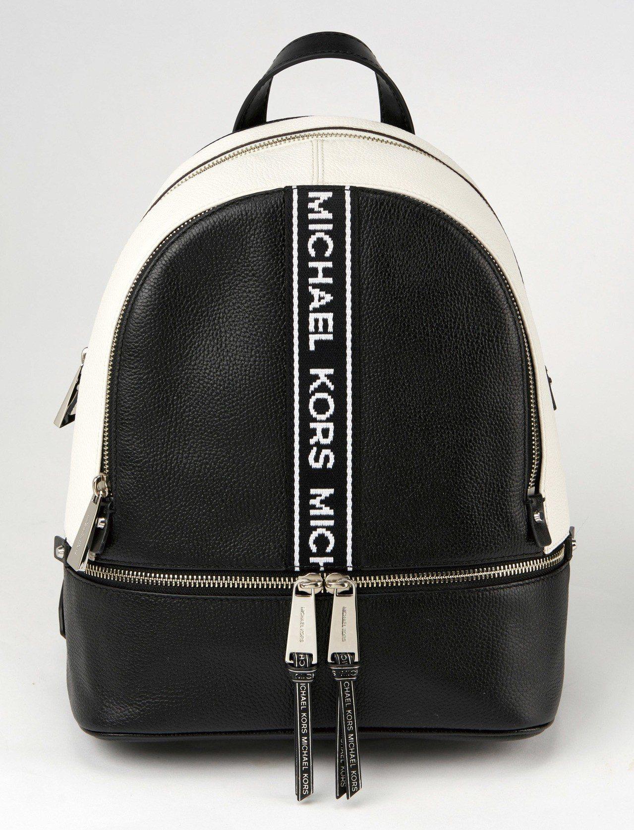 SOGO忠孝館MICHAEL KORS黑白肩背包16,700元。圖/SOGO提供