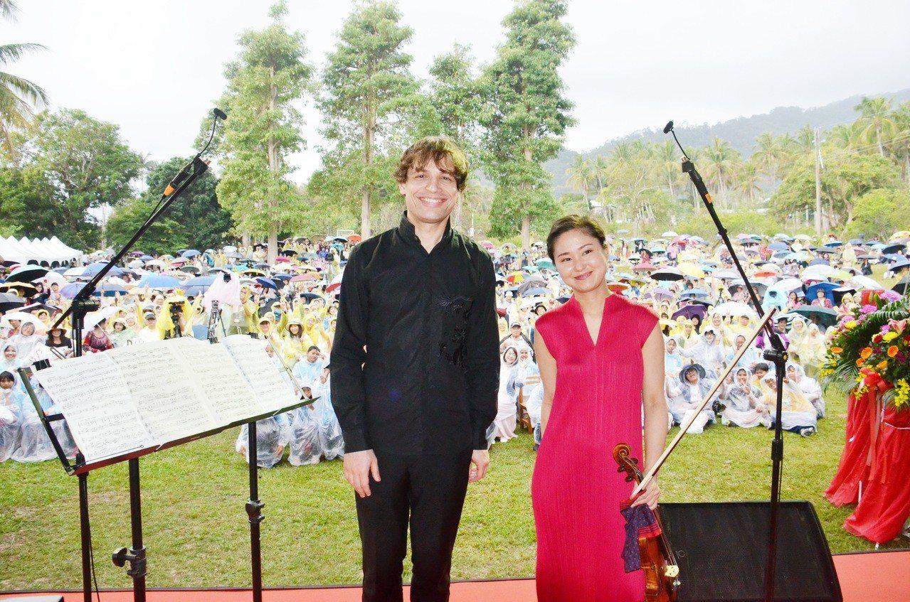 第21屆利卡夢音樂祭請來世界兩大樂壇巨星日籍小提琴天后庄司紗矢香、俄羅斯鋼琴王子...