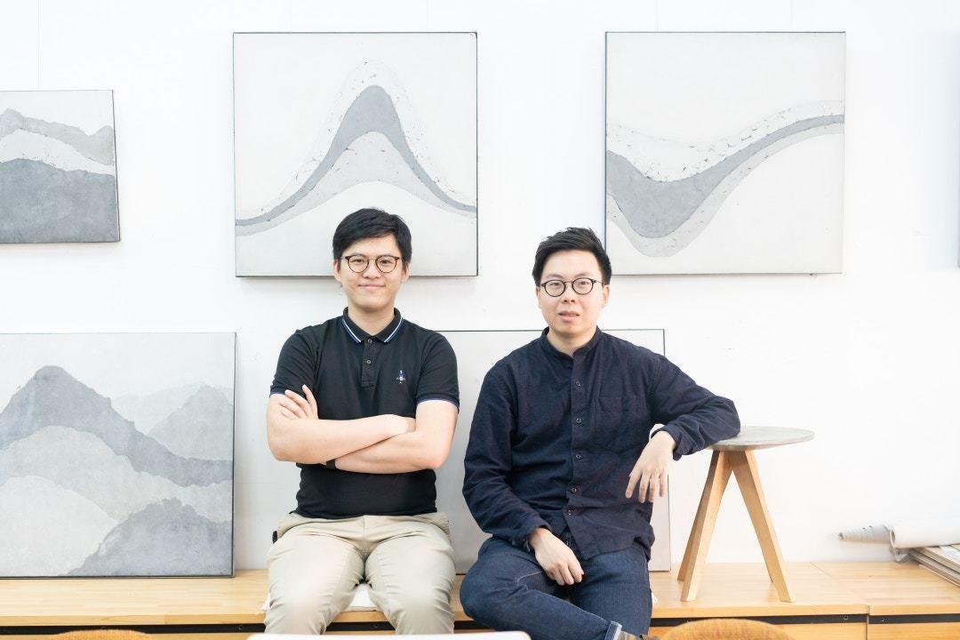 馬祖輝(左)及劉頌銘(右)兩人現職建築師樓助理,成為了朝九晚六的典型上班族。記者...