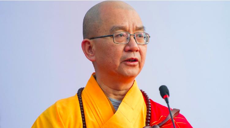中國佛教協會前會長學誠被責令辭去全國政協委員。(香港01報導照片)