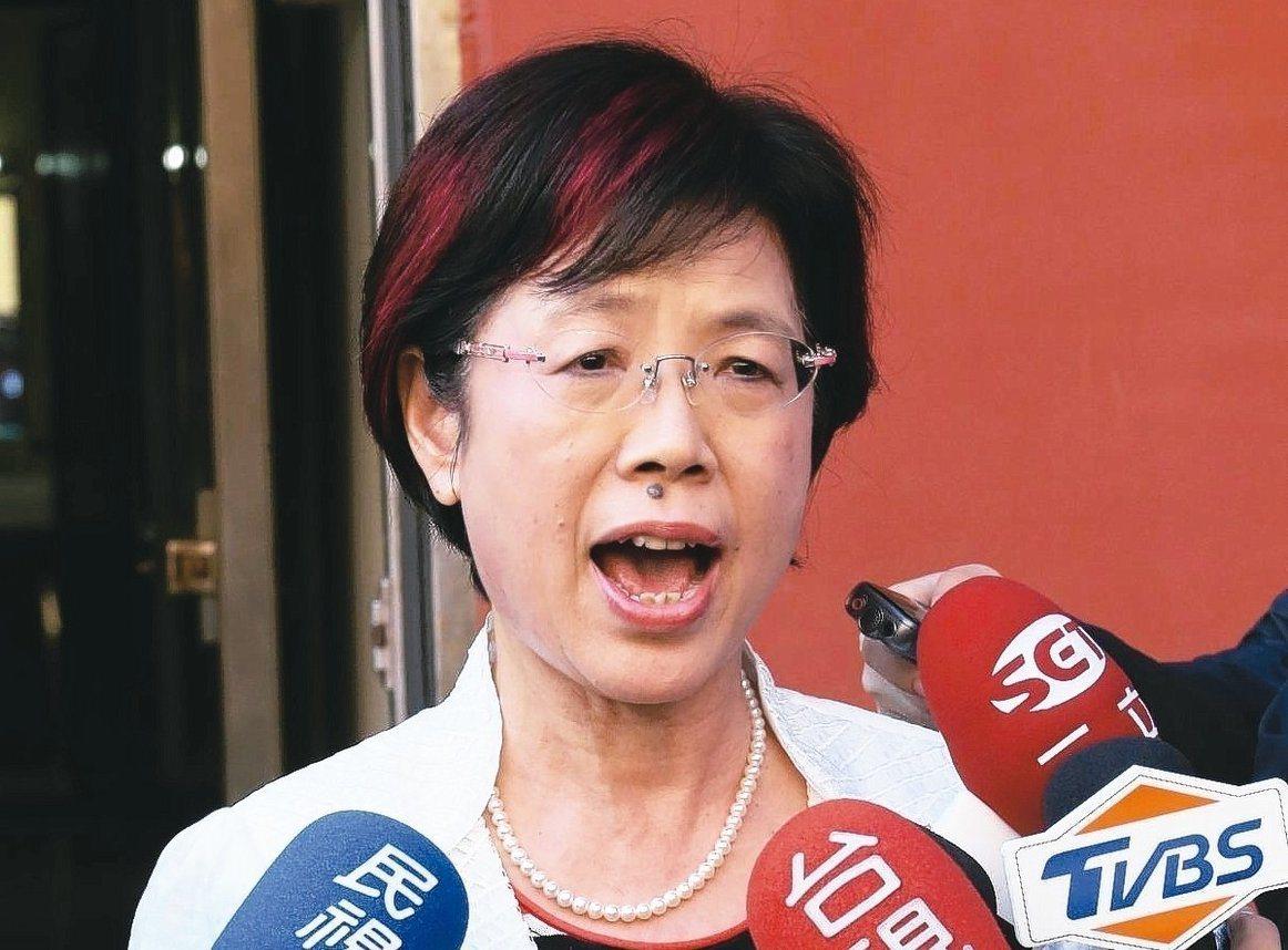 民進黨立委尤美女。 聯合報系資料照