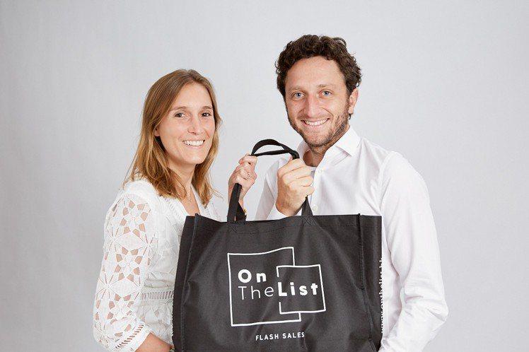 OnTheList創辦人Delphine Lefay (左)、Diego Dul...