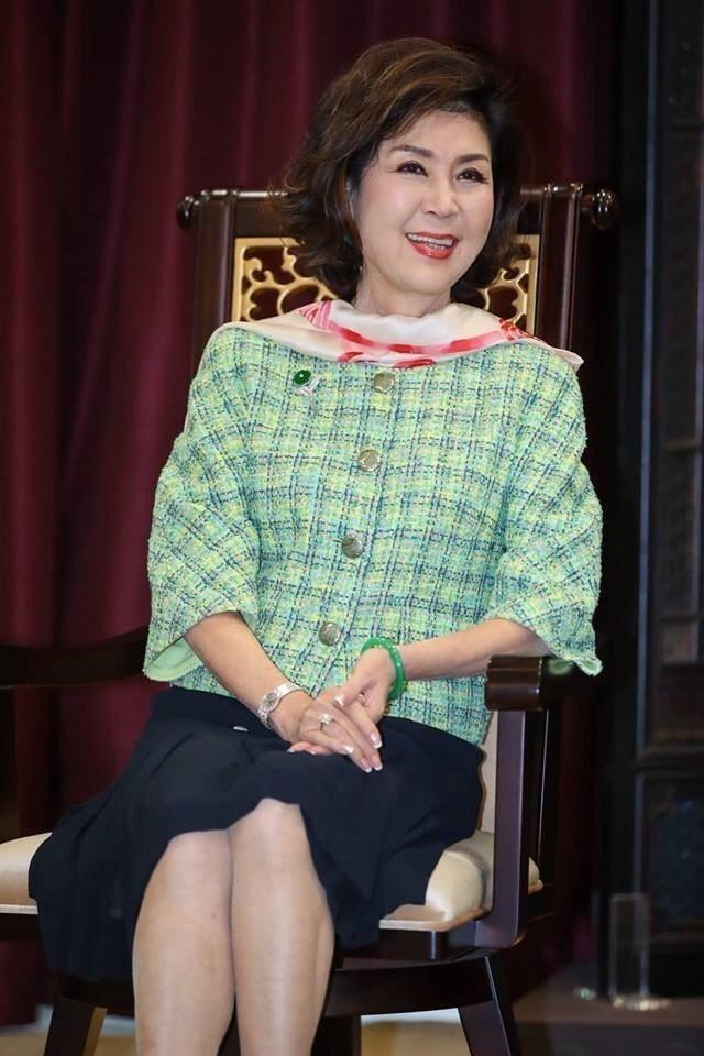 台中花博親善大使白嘉莉。圖/台中市政府新聞局提供
