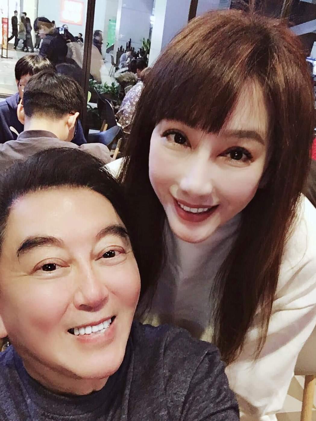 陳子璇和高國華現在在深圳工作。圖/摘自臉書