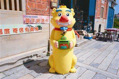金門風獅爺郵筒。圖/中華郵政提供