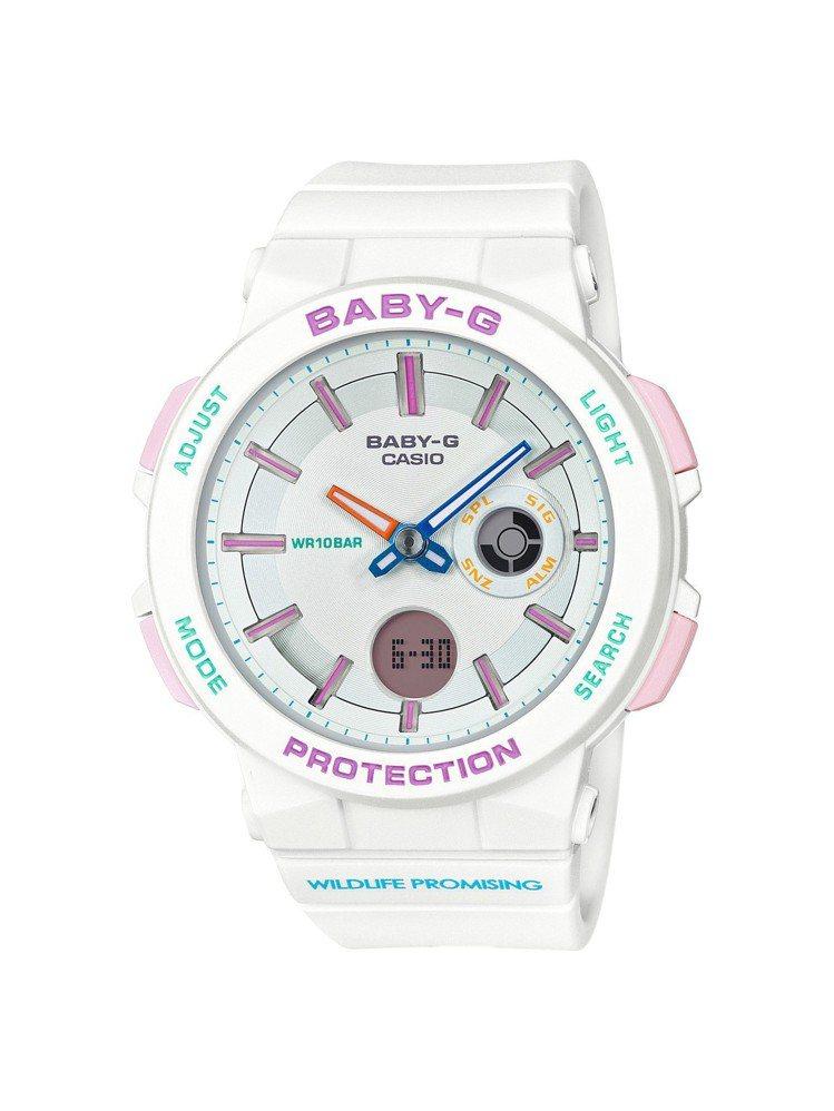 BA-255WLP腕表,以波札那的國鳥紫胸佛法僧為靈感設計,4,000元。圖/C...