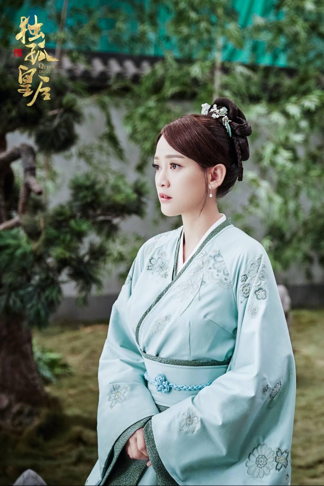 陳喬恩預告將在「獨孤皇后」中封后。圖/摘自微博
