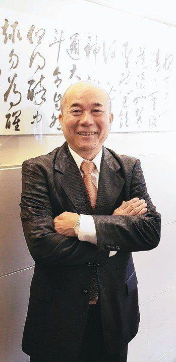 臺灣機械工業同業公會理事長柯拔希。 魯修斌/攝影