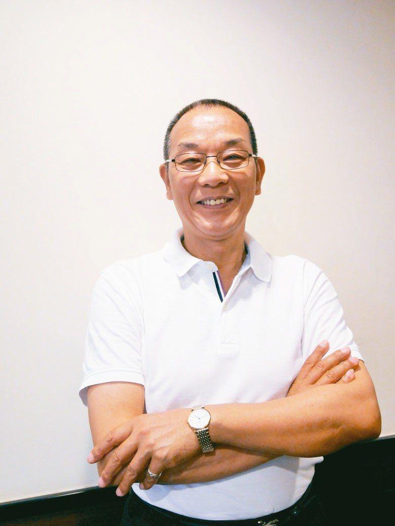 廈門東亞機械董事長韓螢煥引領永磁變頻馬達成空壓機主流。 賴俊明/攝影