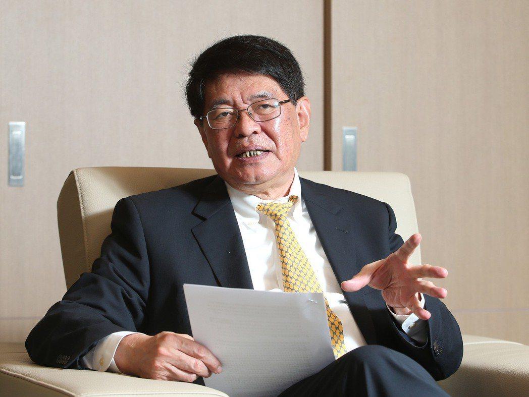 中國銀行台北分行行長蔡榮俊。記者林澔一/攝影