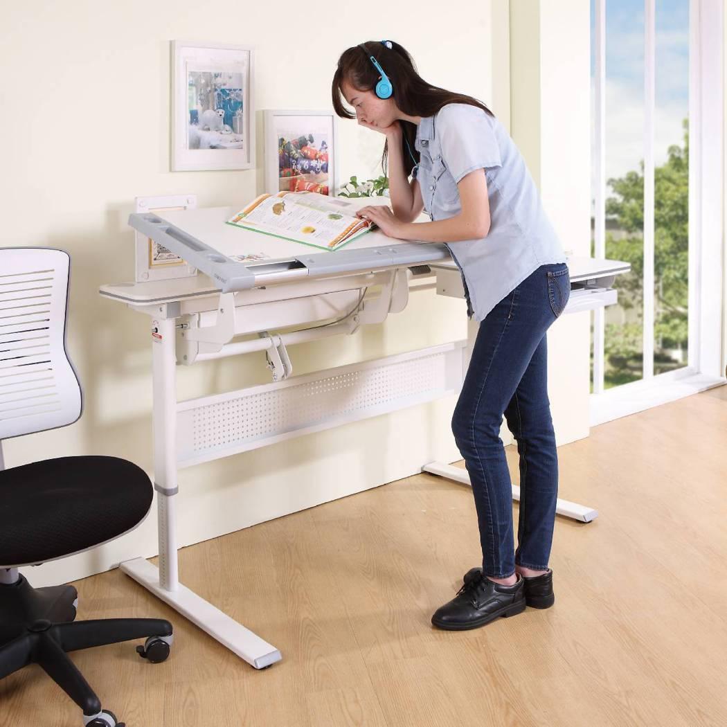 Order x 康樸樂成長書桌身高100cm~180cm的小孩、大人皆可使用。歐...