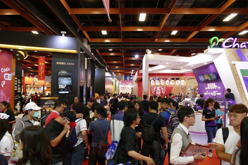 連鎖加盟創業展。台灣連鎖加盟促進協會/提供