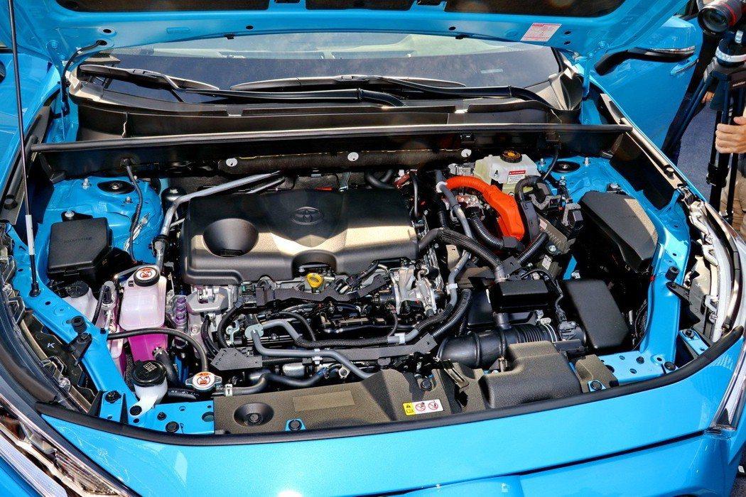 2.5L Dynamic Force Hybrid引擎及E-CVT無段變速系統,...