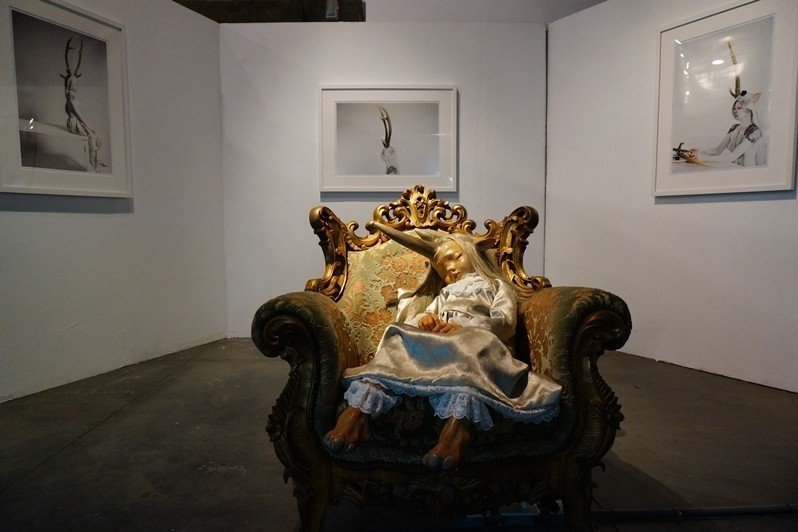 黃贊倫作品,〈安妮〉。 圖/聯合報系資料照