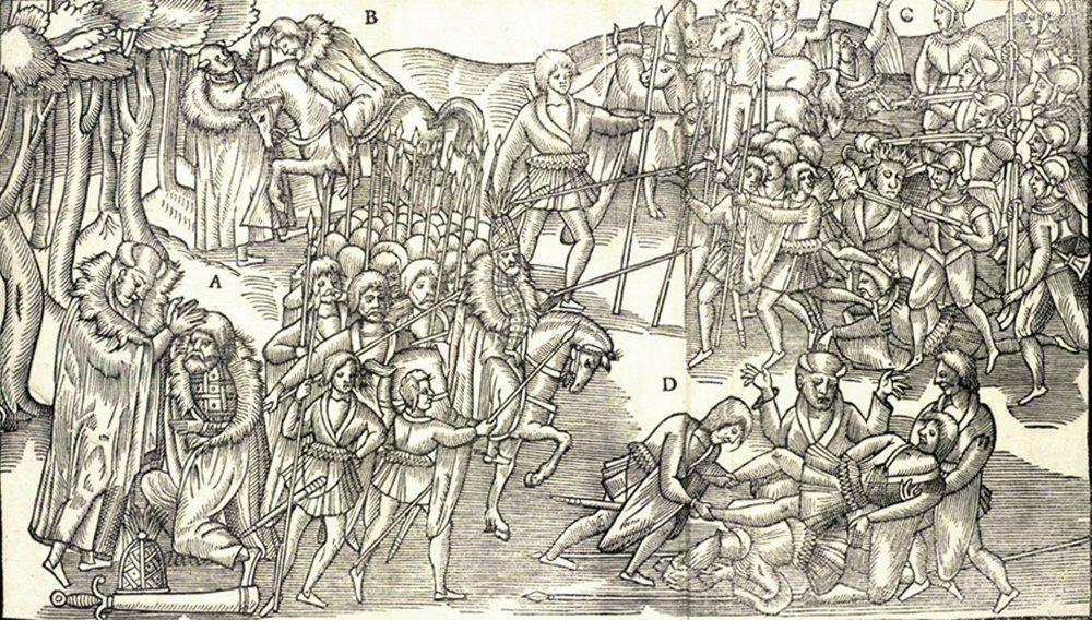 詹姆士一世的想法很簡單:派出大量蘇格蘭人和英格蘭人過去、搶走愛爾蘭人的土地,就能...