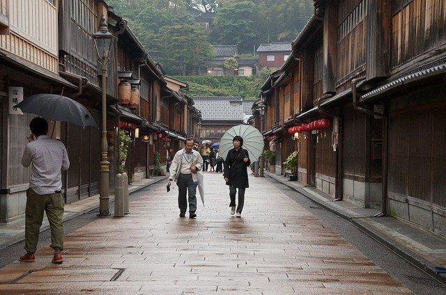 ▲立山黑部周邊景點-金澤東茶屋街。(圖/攝影者:Hiroyuki-H, Flic...