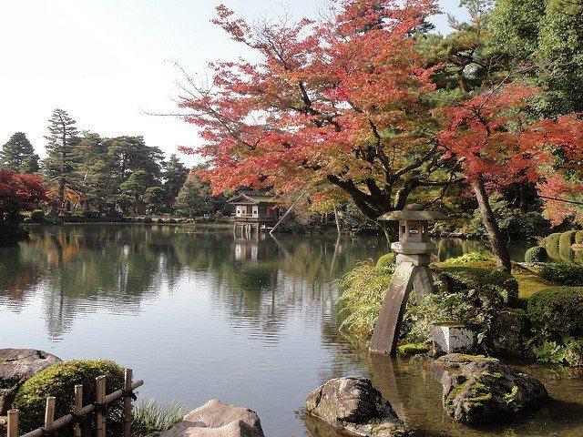 ▲立山黑部周邊景點-金澤兼六園。(圖/攝影者:Happy Com, Flickr...