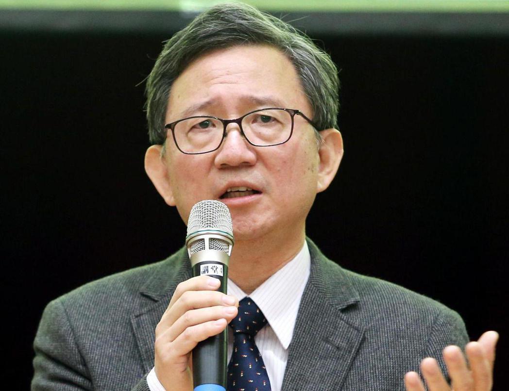 台大醫學院教授王明鉅。本報資料照片