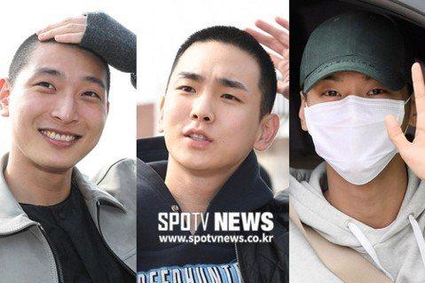 三位韓星今天做夥入伍,SHINee的Key、VIXX隊長N和前「2AM」成員鄭珍雲同天到論山新兵訓練所報到,成為軍樂隊同梯同袍。他們今天都在訓練所門口與粉絲道別,大方公開自己的平頭素顏容貌,以健康的...