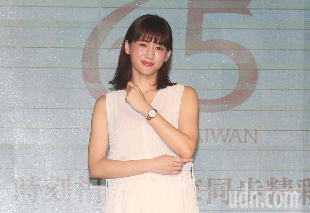 日本女星綾瀨遙今天為鐘錶品牌SEIKO擔任一日行銷部長。記者胡經周/攝影