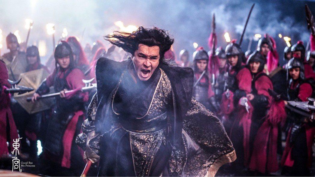 王傳一在古裝劇「東宮」中飾演二皇子。圖/嚞娛樂提供