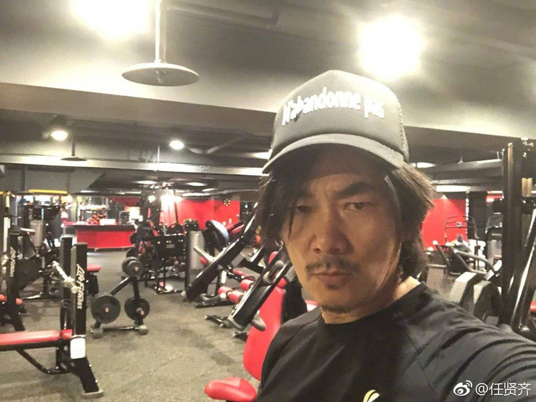 任賢齊疑似在微博透露「跑馬」要復工。圖/摘自任賢齊微博