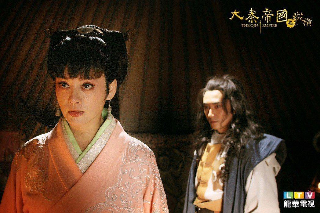寧靜詮釋第一位太后「羋八子(羋月)」。圖/龍華電視提供