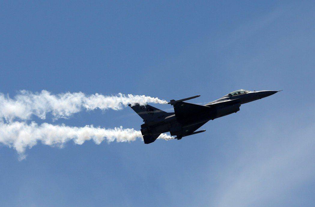 巴基斯坦的美製F-16戰機。(路透)