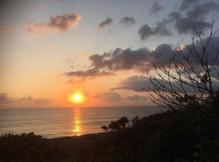台灣有名的美景之一「旭海日出」。圖讀者提供