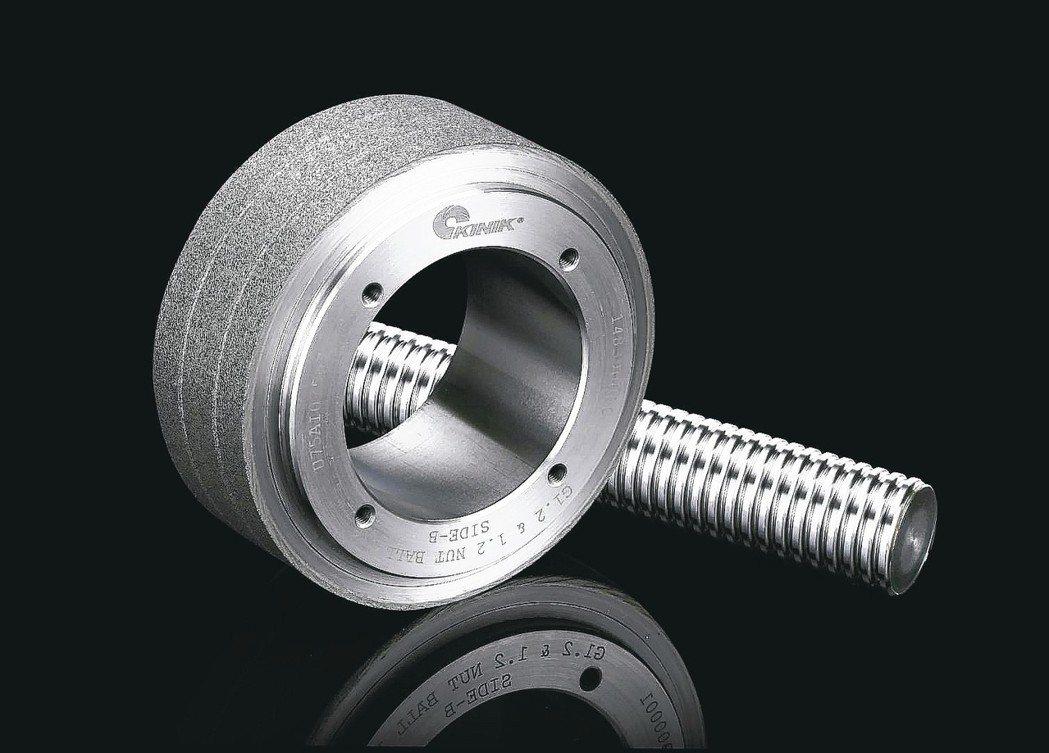 鑽石滾輪專用於高精度要求,適用於複雜緣形修整。 中砂/提供