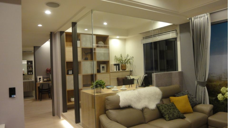 建商紛紛推出小坪數的小宅因應房市的需求。圖/倪子仁提供