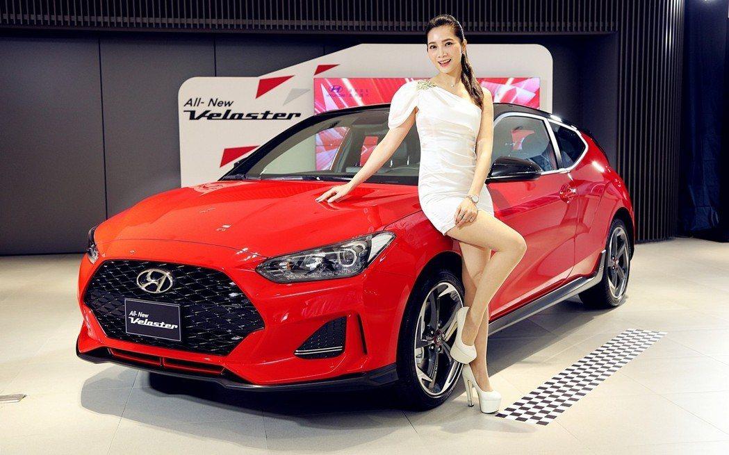 新世代Hyundai Veloster預計在今年五月底台發表。 圖/南陽現代汽車...