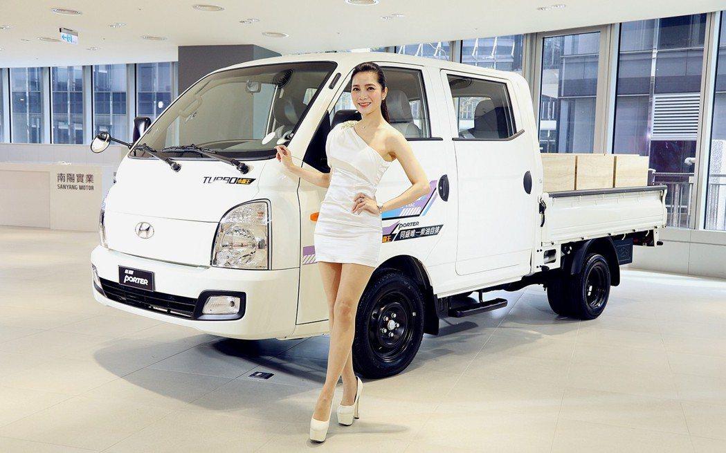 市場熱銷的柴油小霸王HYUNDAI PORTER 7月將新增雙廂車型。 圖/南陽...