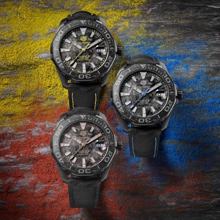 除了全新的鍛造碳系列之外,泰格豪雅先前也推出了碳纖維表圈的腕表,詢問度同樣也很高...