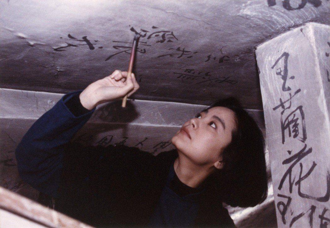 林青霞為昔日主演新片「滾滾紅塵」返台。圖/甲上提供